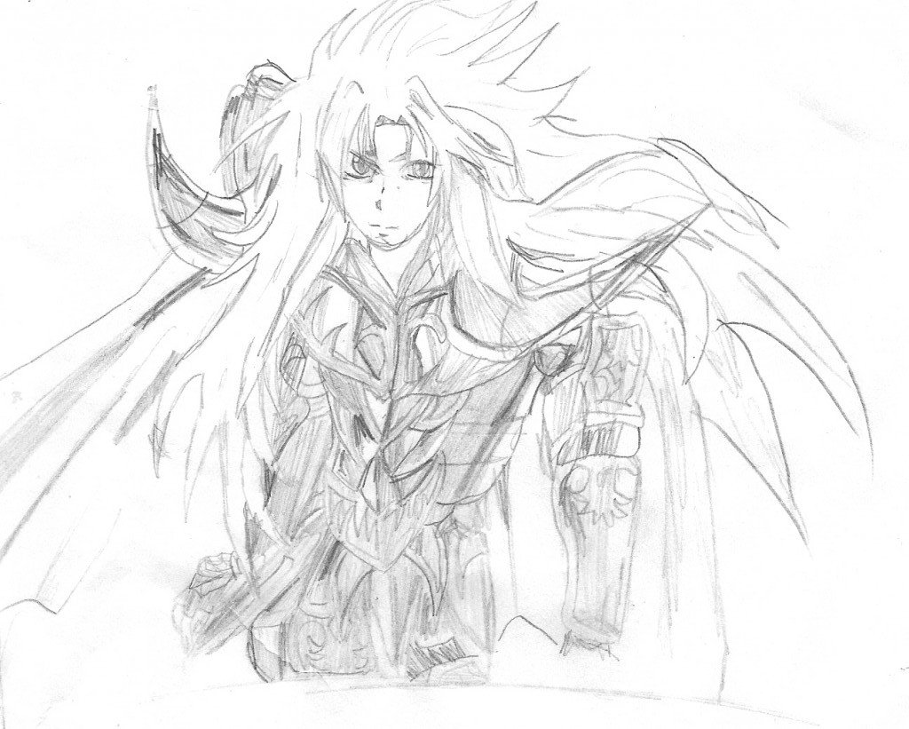 Dessins de saint seiya the lost canvas gillian herlitz - Dessin de saint ...