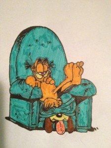 Dessins de Garfield dans Dessins image-e1374098578362-225x300